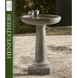 2 Songbirds Birdbath