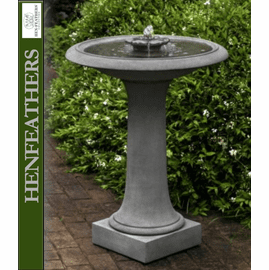 2 Tier Classic Birdbath/Fountain