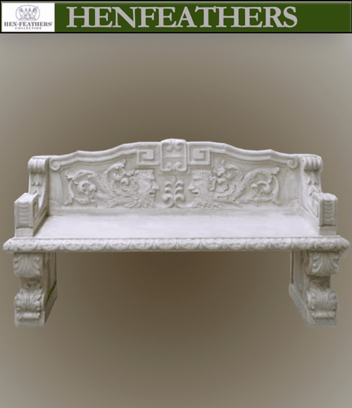 Acanthus Leaf Estate Bench