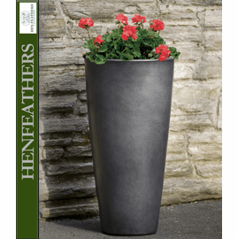 Aluan Tall Round Planter