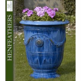Anduze Urn - Riveria Blue - Set of 3