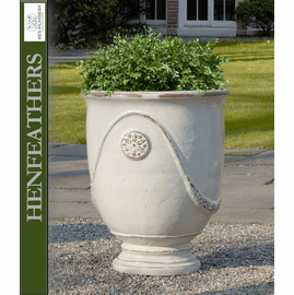 Anduze Urns - Antique White - Set of 4