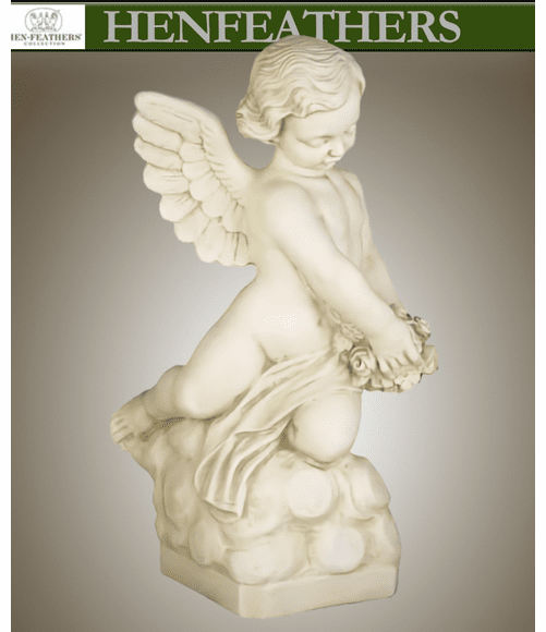 Angel with Rose Bouquet