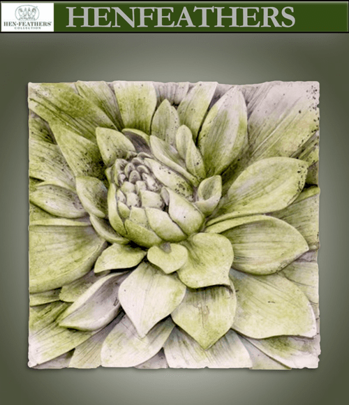 Architectural Dahlia Study Plaque