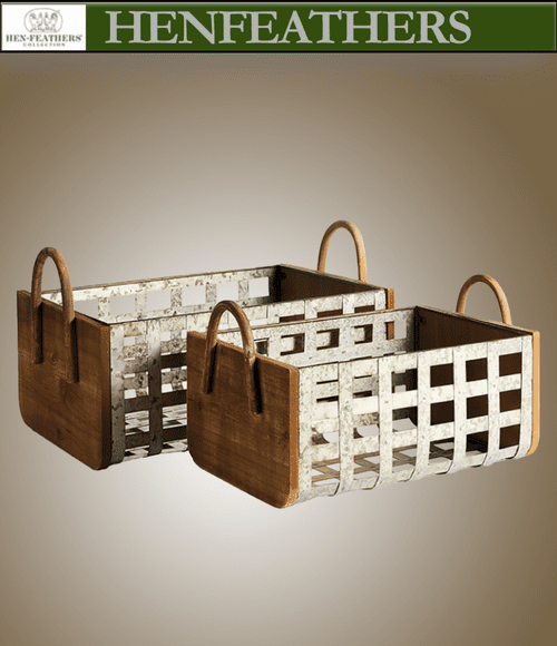 Barwick Baskets / Totes - Set of 2