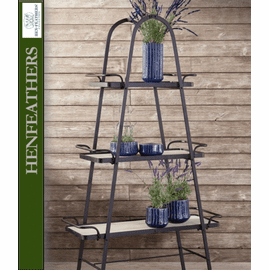 Bordeaux Farmhouse Plant Stand - 3 Shelves