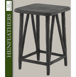 Botanica Faux Bois Accent Table