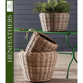 Brooks Braid Basket Planter