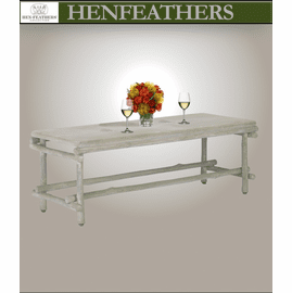 Cap Ferrat Faux Bois Bench/Table