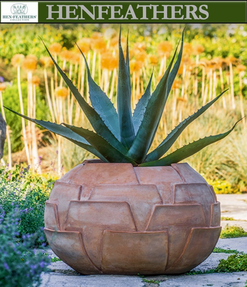 Cardoon Thistle Pot by OVS