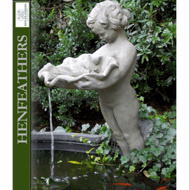 Child with Clamshell Fountainhead {USA}
