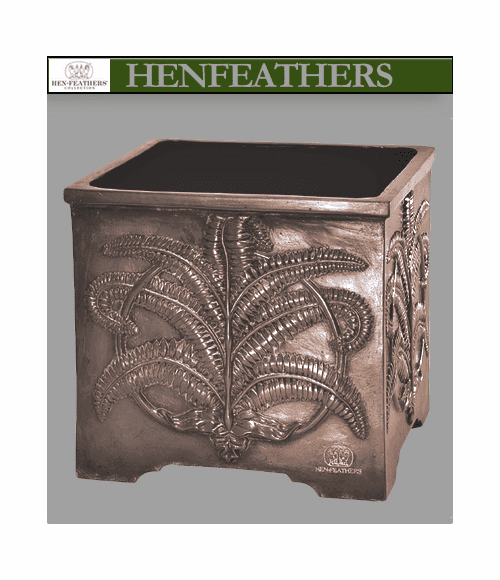 Classic Fern Planter - Antique French Copper  {USA}