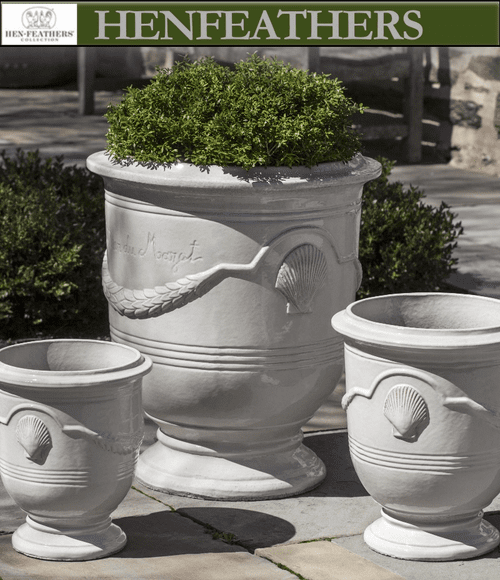 Cote d'Azur Planters Set of 3