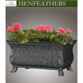 Crossweave Planter w/ Acanthus Leaf Feet