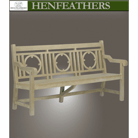 Devonshire Faux Bois Bench Large (n)