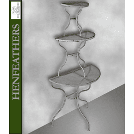 Dubois Demilune 3 Tier Plant Stand (n)