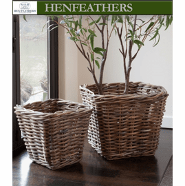 Emilie Tree and Fruit Baskets - Set of 2