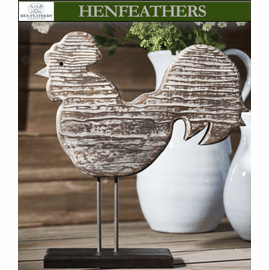 Farmhouse Rooster Sculpture