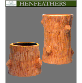 Faux Bois Planter by Mario Nievera