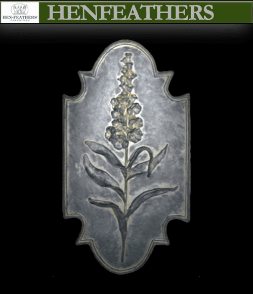 Flower Botanical Plaque - Foxglove{USA}