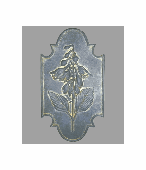 Flower Botanical Plaque - Hosta {USA}