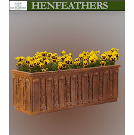 Fluted Frond Window Box