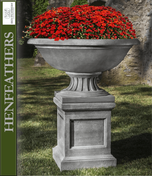 Fonthill Urn with St. Louis Pedestal Combo Set