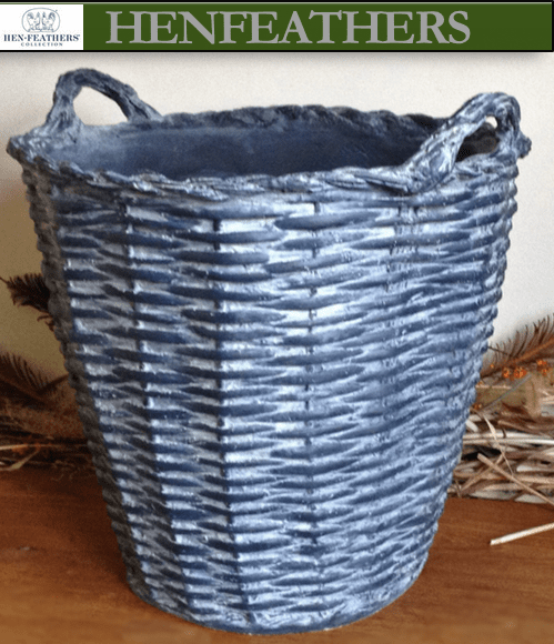 French Basket Planter/ LG. beverage cooler 22 {USA}n