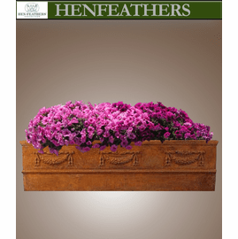 Grand Garland Rectangular Planter 74L {USA}n