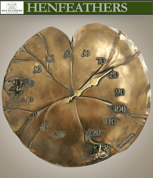 Grand Lily Pad Thermometer