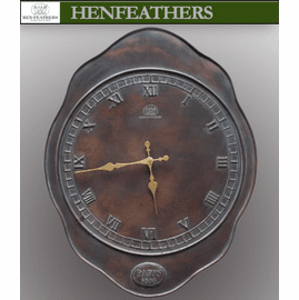 Grand Manor Clock - HenFeathers' original design