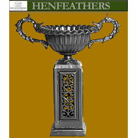 Grande Acanthus Handle Urn on Pedestal {USA}n