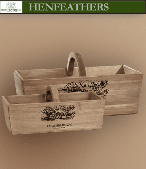 Grapevine Caddy - Set of 2
