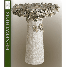 Hampton Oyster Shell Birdbath Large