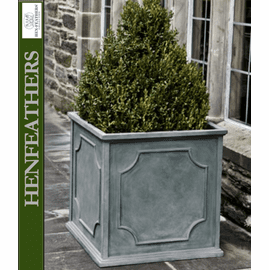 Cumberland Square Planter - Lead