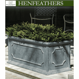 Hampshire Trough Planter - Lead