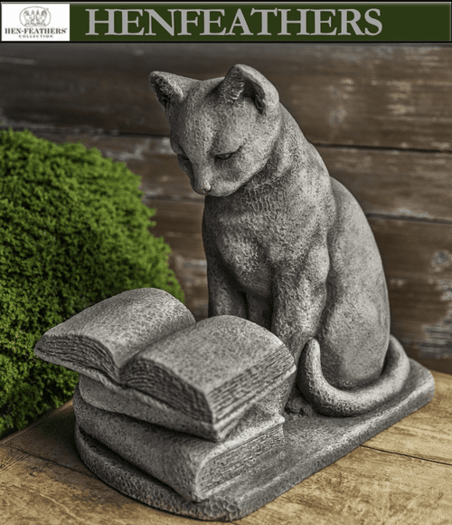 Hemmingway the Cat Sculpture
