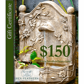 HenFeathers $150 Gift Certificate