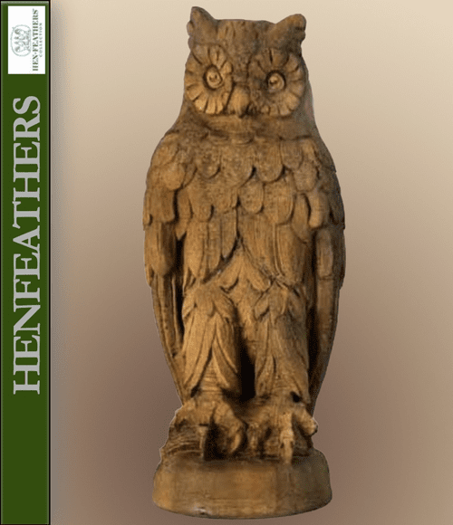 Hoot Owl Sculpture