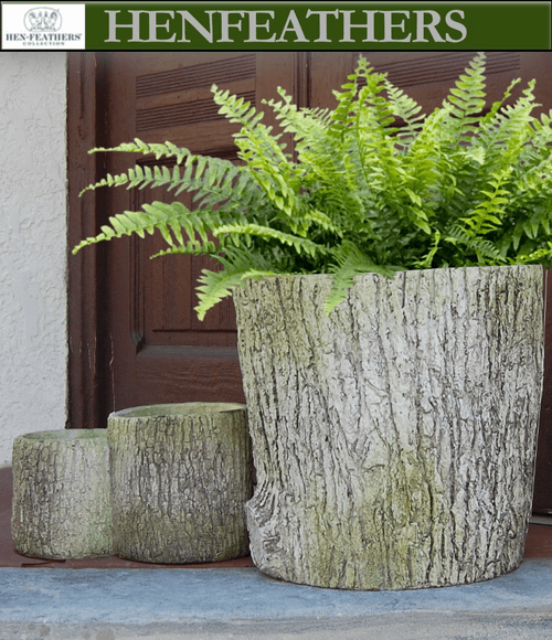 Lake Placid Faux Bois Planter