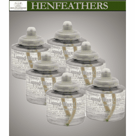 Disposable Lantern Fuel Cells - 6 Pack