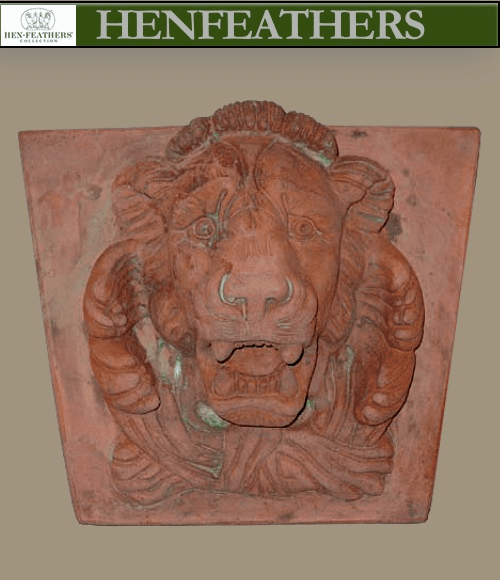Lionheart Fountain Head/Wall Sculpture