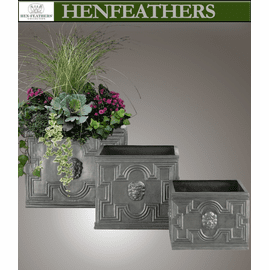 Lionheart Square Planter