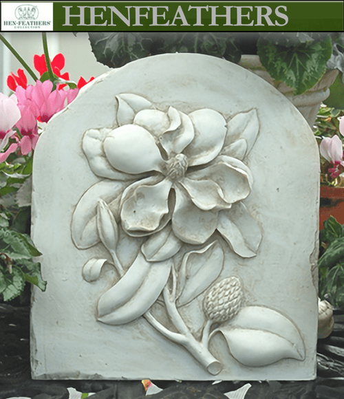 Magnolia Decorative Wall Plaque {USA}