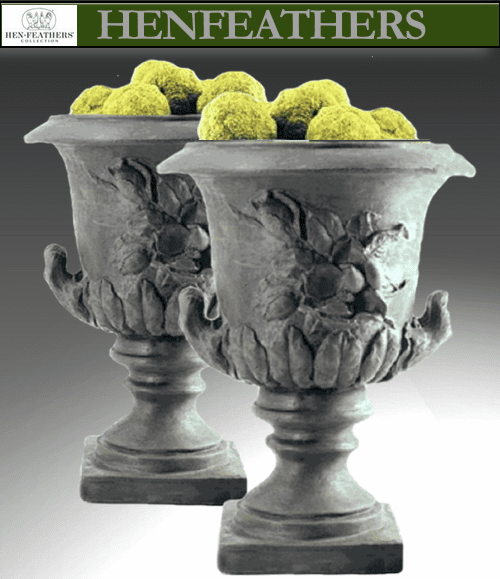 Magnolia Urn Pair {USA}
