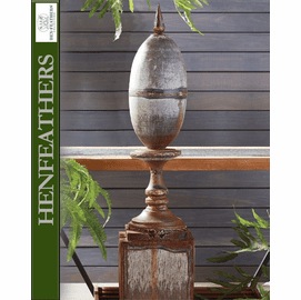 Marlborough Antique Metal Finial