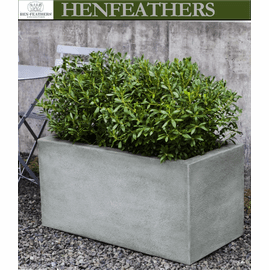 Metropolis Rectangle Planter