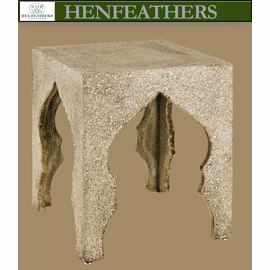 Morocco Faux Bois Accent Table
