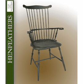 Mount Vernon Fan Back Armchair