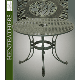 Mount Vernon Round Cypher Table